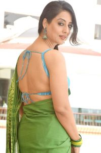 Mahi Gill in Saree