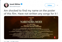 Javed Akhtar on Twitter
