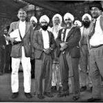 Makhan singh Kiniya with Indian