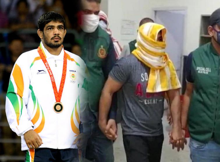 sushil kumar arrested